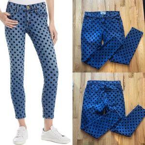 CURRENT/ELLIOT Polka Dot Jeans